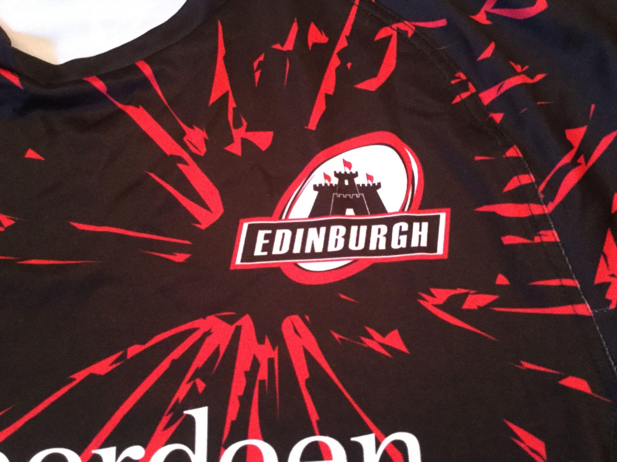 Classic Rugby Shirts 2012 Edinburgh Vintage Old Jerseys